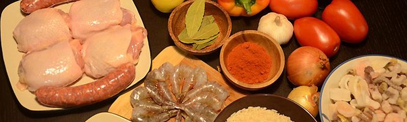 Algunos ingredientes de la cocina española