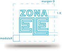 Estructura del logo de Zona ELE