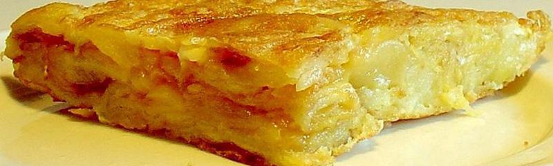 Pincho de tortilla española